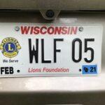 Lions License Plates